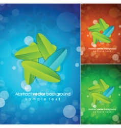 nature posters vector image