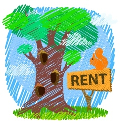 Property or real estate concept vector image