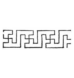 Swastika design is very commonly used as a rug vector