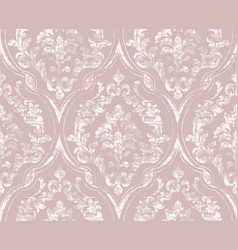 vintage flourish ornamented pattern vector image