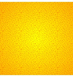 Yellow seamless background grunge dots vector image vector image