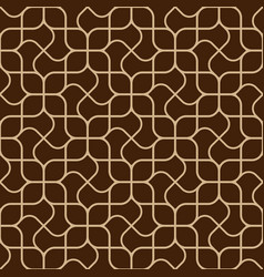 abstract delicate geometric seamless pattern vector image