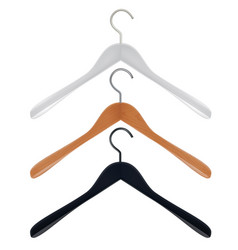 hangers set vector image