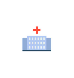 hospital icon flat element of vector image