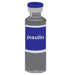Insulin vector image