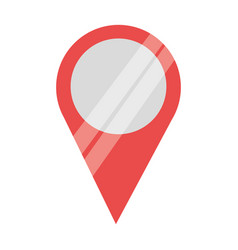 pointer map location vector image