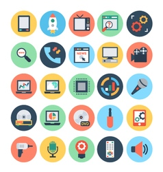 Technology and Hardware Icons 3 vector