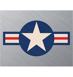 Us air force sign vector
