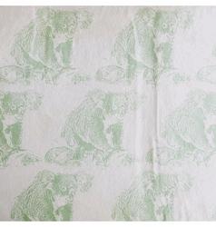 Vintage a koala bear pattern on old vector