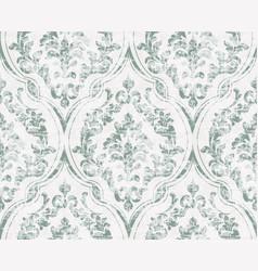 vintage flourish ornamented pattern vector image