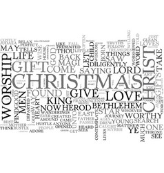 What gift will you give text word cloud concept vector