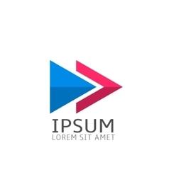 Logo template icon vector image vector image