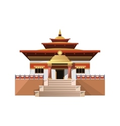 Temple of Heaven icon isolated on white background vector image