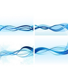 abstract background vector set vector image
