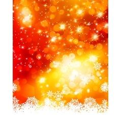 Abstract christmas with snowflake EPS 10 vector