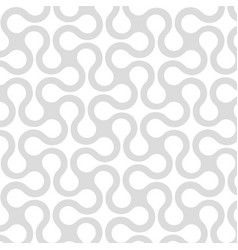 abstract geometric seamless pattern with curved vector image