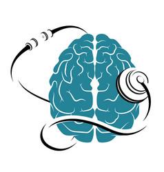 Brain and tonometer vector