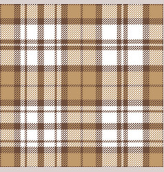 Brown plaid pattern graphic vector