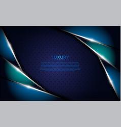 Dark blue metallic textured background vector