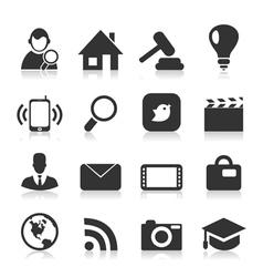 Icon the Internet2 vector