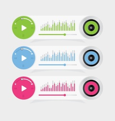 Music Player 23 vector