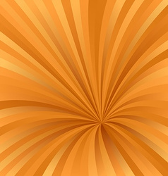 Orange color abstract burst design background vector