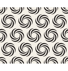 Seamless Black and White Spiral Geometry vector