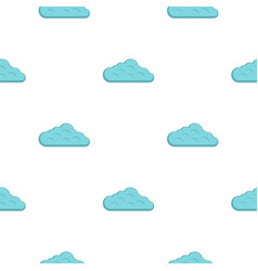 Sky cloud pattern flat vector