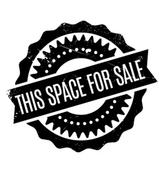 This space for sale rubber stamp vector