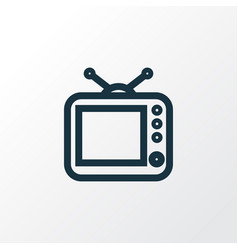 Outline Of Watching Tv Vector Images Over 210