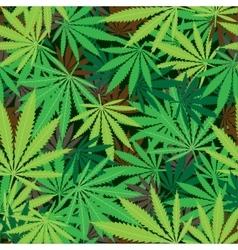 cannabis hemp texture vector image vector image