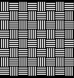 seamless pattern with black white straight striped vector image