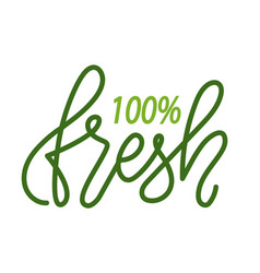 Absolutely fresh isolated logo high quality vector