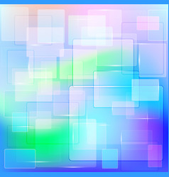 Abstract geometric background of transparent vector