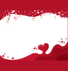 Bleeding love vector