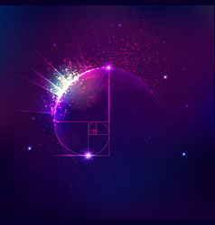 cosmology vector image