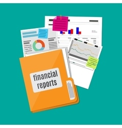 Financial report concept Business background vector