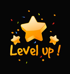 Level up reward vector