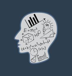 Mathematics logo vector