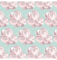 Watercolor Pink Rose pattern vector image vector image