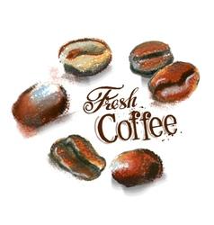 coffee logo design template cafeteria or vector image