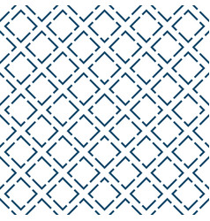 abstract modern blue geometric design pattern vector image