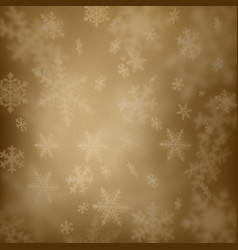 abstract snow background vector image