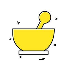 apparatus icon design vector image