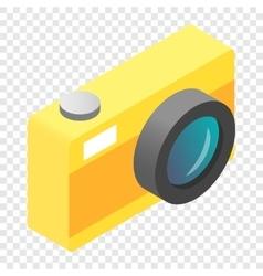 Camera isometric 3d icon vector image