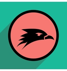 Eagle head logo vector