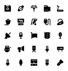 Electronics and Devices Icons 1 vector