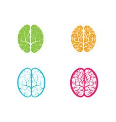 health brain icon vector image