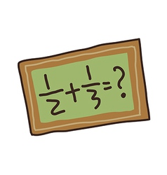 Icon blackboard vector