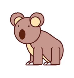 Koala icon image vector